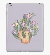 Cafe Flowers iPad Case/Skin
