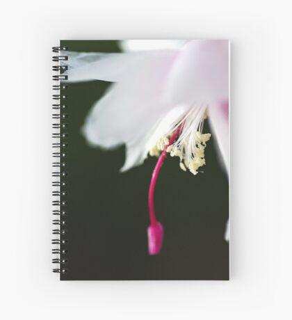 Dancing Delicate Zygocactus Spiral Notebook