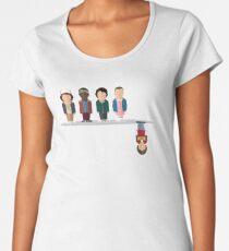 The Upside Down Premium Scoop T-Shirt