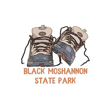 Black Moshannon State Park Hiking Boots by awkwarddesignco