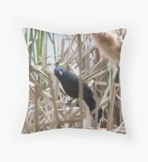 What The? Throw Pillow