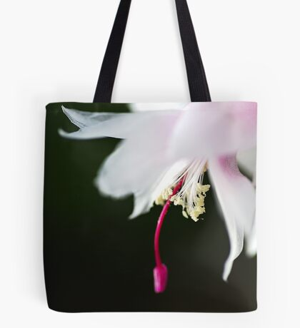 Dancing Delicate Zygocactus Tote Bag