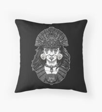 American Queen Throw Pillow