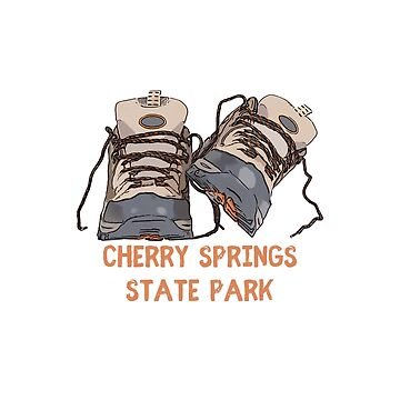 Cherry Springs State Park Hiking Boots by awkwarddesignco