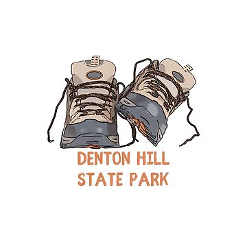Denton Hill State Park Hiking Boots by awkwarddesignco