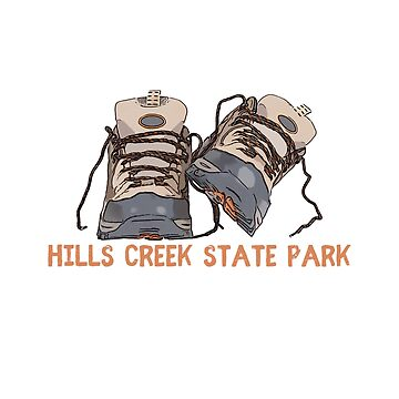 Hills Creek State Park Hiking Boots by awkwarddesignco
