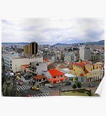 Quito Skyline Poster