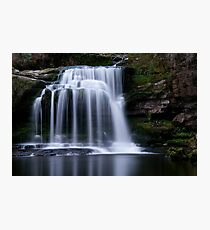 West Burton Waterfall , Yorkshire Dales Photographic Print