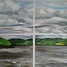 40 shade over the river shannon by Caroline  Hajjar Duggan