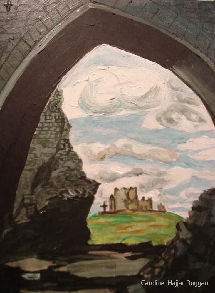 Rock Of Cashel  by Caroline  Hajjar Duggan