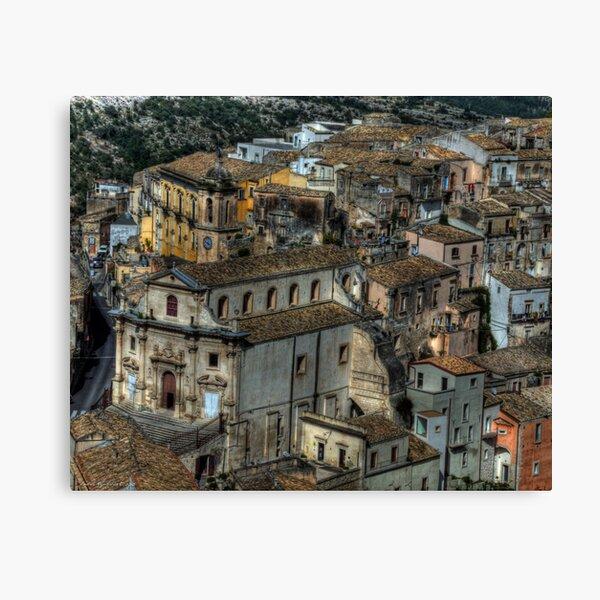 Old Sicily  Canvas Print