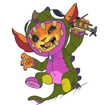 Dino Gnar by l0ldestroyer