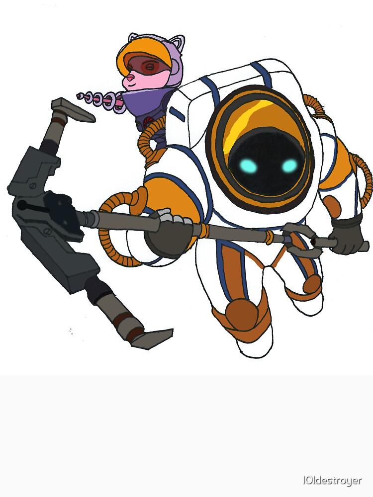 Astronaut(ilus) Team(o) by l0ldestroyer