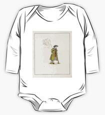 The Pied Piper of Hamlin Robert Browning art Kate Greenaway 0047 The Cripple One Piece - Long Sleeve