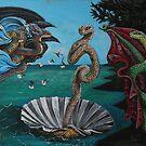 Birth of Snake Venus by SnakeArtist