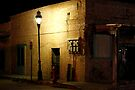 Closed For The Night - Mesilla, NMex by Larry Costales