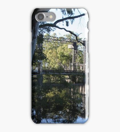 Barham Bridge (December) iPhone Case/Skin