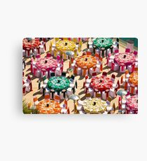 Colorful Luncheon Canvas Print
