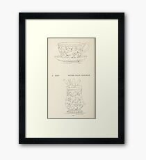 Briggs & Company Patent Transferring Papers Kate Greenaway 1886 0130 Framed Print
