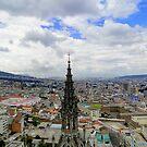 Quito Skyline II by Al Bourassa