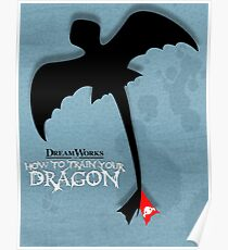How to Train your Dragon Poster Poster
