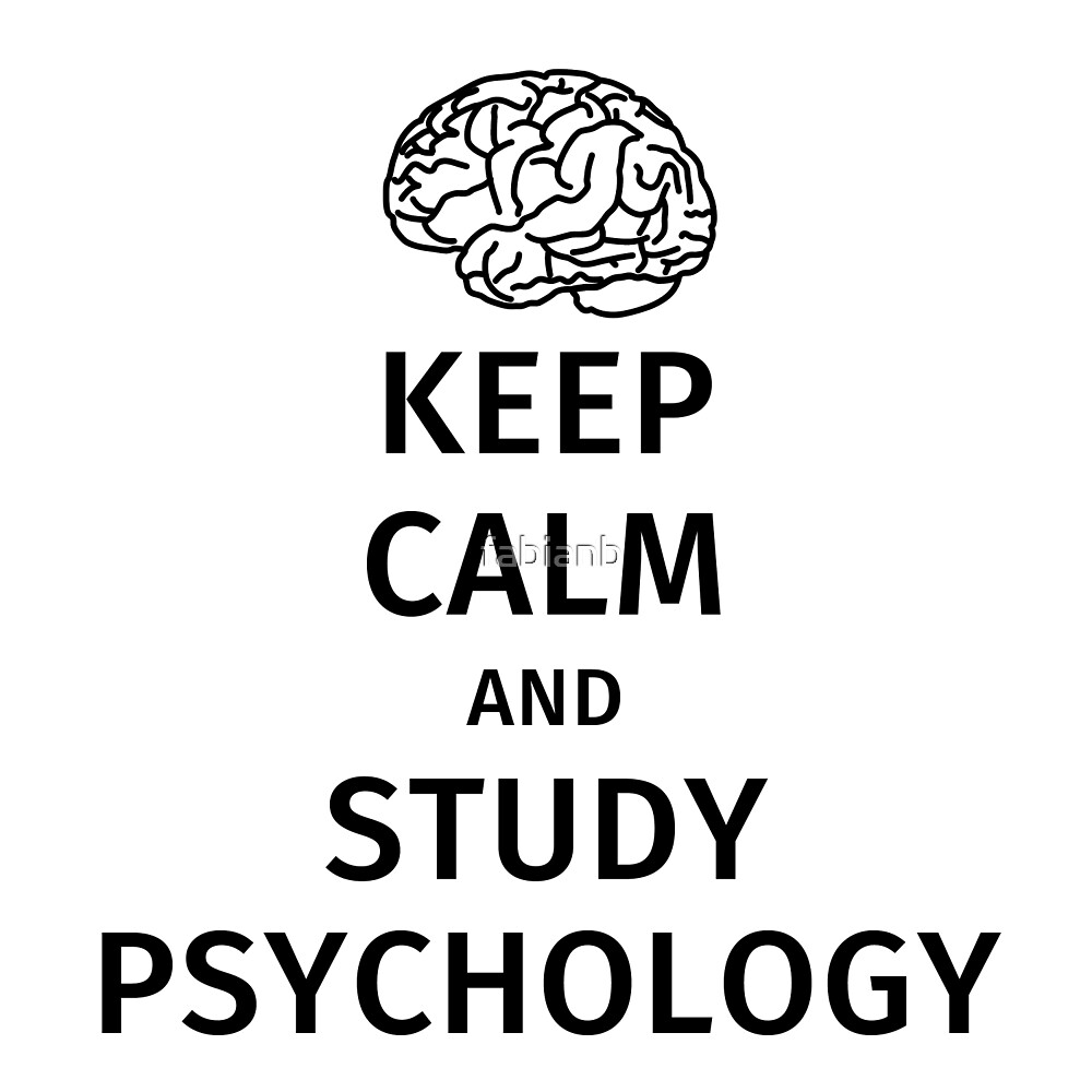 keep calm and study psychology by fabianb
