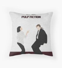 Pulp Fiction 2 Throw Pillow
