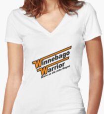Winnebago Warrior - Dead Kennedys Women's Fitted V-Neck T-Shirt