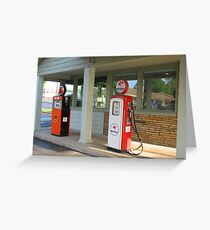 The Pumps at Rail Haven Greeting Card