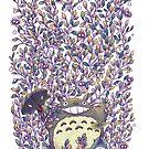 «Totoro semillas mágicas» de Roberto Nieto