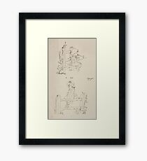 Briggs & Company Patent Transferring Papers Kate Greenaway 1886 0225 Framed Print
