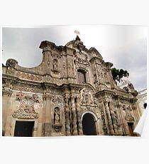 Iglesia de La Compania de Jesus, Quito, Ecuador Poster