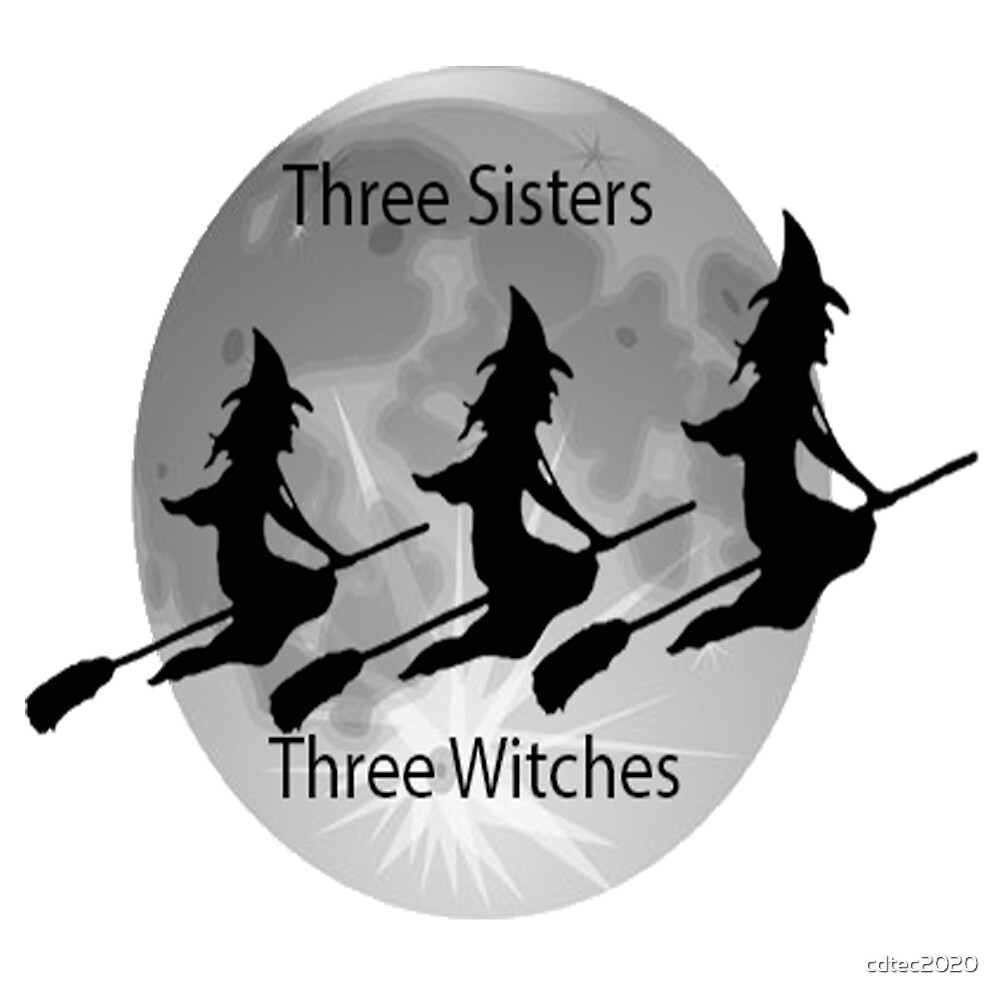 Three Sisters Tree Witches by cdtec2020