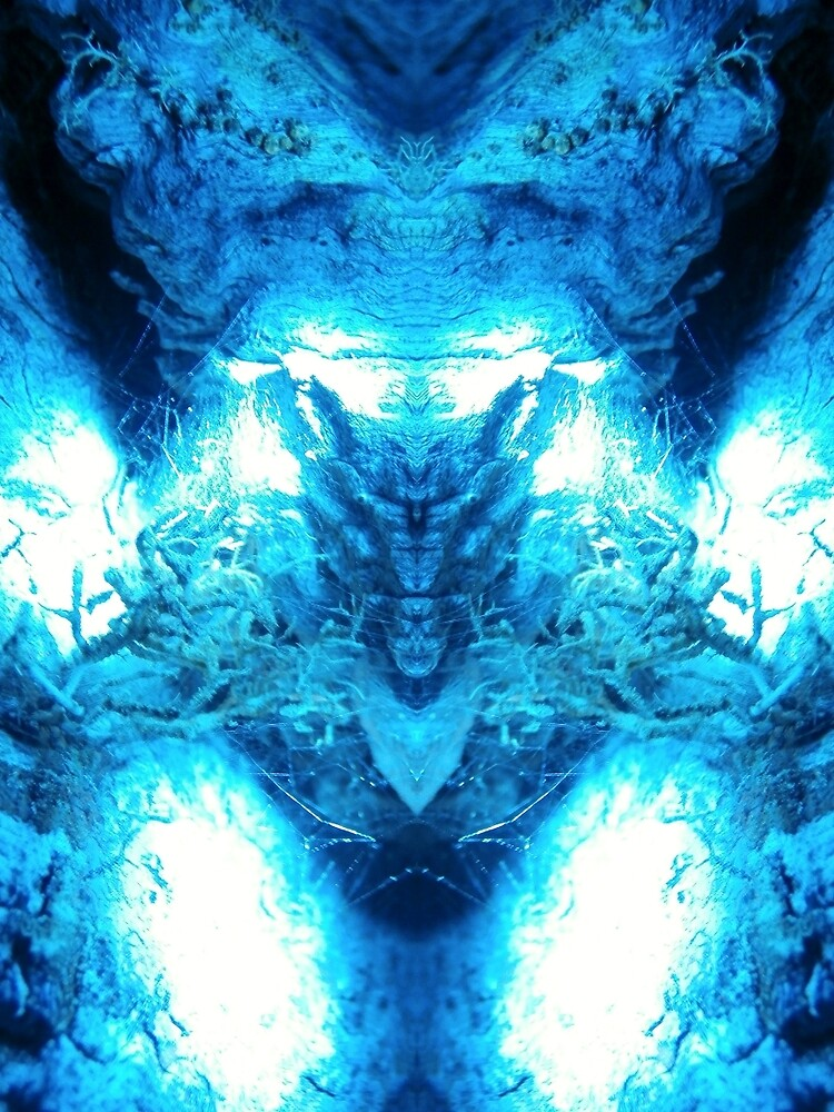 The Blue Space Juggernaut by bo0oza