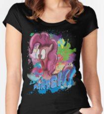 Pinkie Pie SPLAT PARTEH! Women's Fitted Scoop T-Shirt