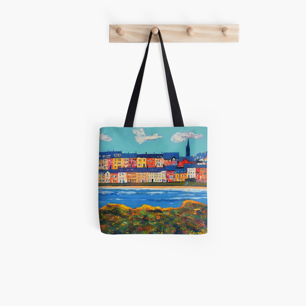 Three Clouds Over Portrush (County Antrim, Northern Ireland) Tote Bag