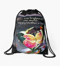 Happy Mother's Day! Drawstring Bag