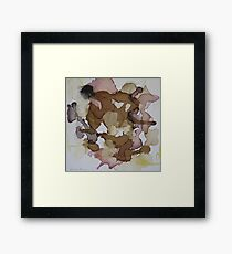 Your Tender Step Framed Print