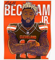 Odell Beckham Browns Poster