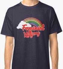 Feminist killjoy retro rainbow Classic T-Shirt