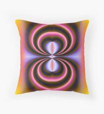 Abstract Art Illusration Throw Pillow
