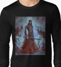 Lich King White Walker Ringwraith Long Sleeve T-Shirt