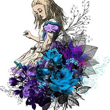 Vintage Alice In Wonderland by 4Craig