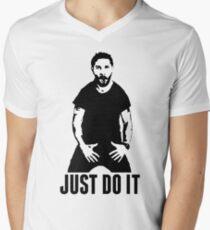 JUST DO IT - Shia LaBeouf Men's V-Neck T-Shirt