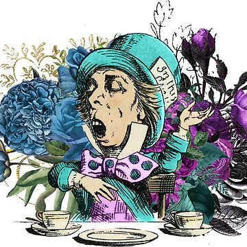 Mad Hatter Alice In Wonderland Tea Party by 4Craig