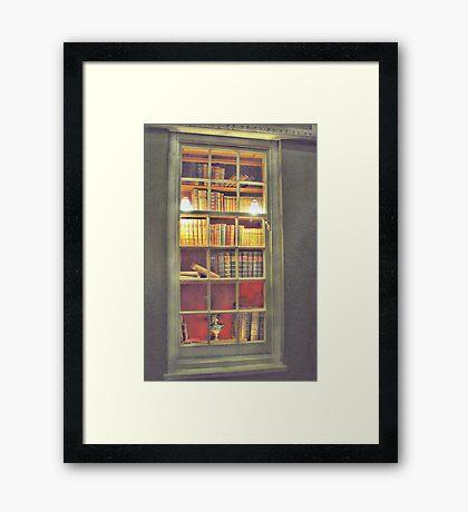 Books, Books, Books. Framed Print