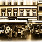 Street Market in Prague by David's Photoshop