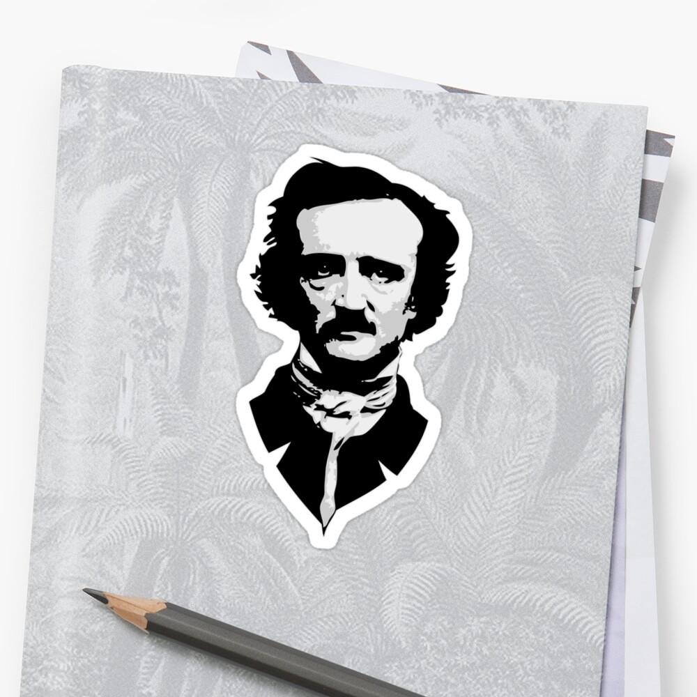 Edgar Alan Poe by synaptyx