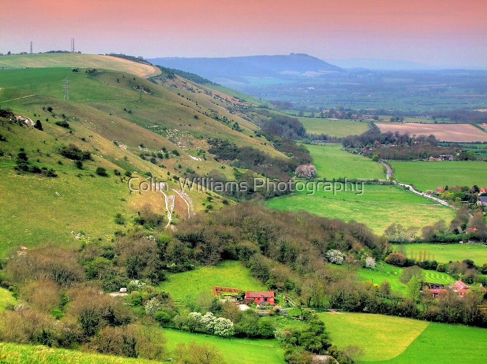The Fulking Escarpment - HDR by Colin  Williams Photography