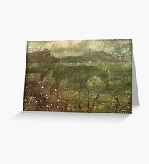 Flora and Fauna Dreamy Collage Greeting Card